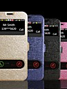 SM-n9100 (모듬 된 색상) 주 4 삼성 갤럭시 듀얼 창보기 실크 패턴 PU 가죽 스탠드 플립 커버 케이스