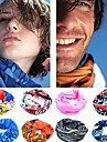 Bandana Neck Gaiters / Neckwarmers/Neck Tube Bike Ultraviolet Resistant Detachable Cap Unisex Polyester