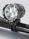 Mások Fejlámpák Mód 5200 Lumen 18650 Vízálló / Újratölthető / Ütésálló / Taktikai / Sürgősségi LED Cree XM-L T6