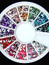600pcs borboleta em forma de jóias de acrílico Flatback coloridos feitos à mão material de artesanato diy