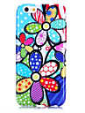 Para Capinha iPhone 6 / Capinha iPhone 6 Plus Estampada Capinha Capa Traseira Capinha Flor Macia TPU iPhone 6s Plus/6 Plus / iPhone 6s/6