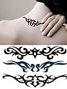 Personality Waist Flower Arm Tattoo Stickers Temporary Tattoos(1 Pc)