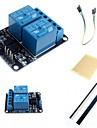 2-канальный электрический релейный модуль расширения релейная плата с оптопары и аксессуаров для Arduino