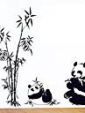 환경 이동식 팬더 패턴 PVC 태그&스티커