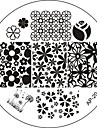 Nail Art Stamp Stamping Image Template Plate AP Series NO.20