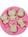 привет украшения торта котенок силиконовые формы силиконовые формы для помадные конфеты ремесла ювелирных изделий PMC смолы глины