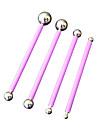 четыре с стальной шарик инструменты торта инструменты моделирования торта инструменты фиолетовый цвет, 4 / комплект No.65