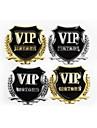 3d металлические авто логотип автомобиля наклейку VIP наклейки / сплава Крышка двигателя автомобиля эмблема / заказ наклейки окна