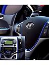 etiqueta do carro de rosca decoracao adesivos auto styling carro pater indoor interior corpo exterior modificar decalque 6 cores 5m / pcs