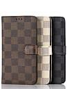 Etui en cuir de luxe pu portefeuille de 5,5 pouces avec support pour LG g4 (couleurs assorties)