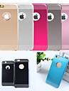 Для Кейс для iPhone 6 / Кейс для iPhone 6 Plus Ультратонкий Кейс для Задняя крышка Кейс для Один цвет Твердый PCiPhone 6s Plus/6 Plus /