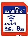 ez Share 8GB Cartao SD Wifi cartao de memoria class10