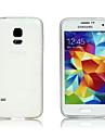 gennemsigtig silikone tilbage Cover til Samsung s5 mini