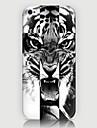 Pour Coque iPhone 5 Etuis coque Motif Coque Arriere Coque Animal Dur Polycarbonate pour iPhone SE/5s iPhone 5