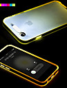 For iPhone 6 Case / iPhone 6 Plus Case LED Flash Lighting / Transparent Case Back Cover Case Solid Color Soft TPUiPhone 6s Plus/6 Plus /