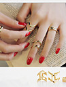 MISSING U Alloy Ring Statement Rings Daily / Casual 1set