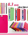 Luxury Ultra Thin Translucent Back Cover for iPhone 6(Assorted Color)