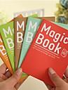 Cute Magic Book Cover Notebook (Random Color)