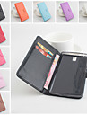 For OnePlus Case Wallet / Card Holder / with Stand / Flip / Magnetic Case Full Body Case Solid Color Hard PU Leather One Plus