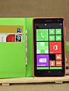 личи вокруг открытой кронштейн кожа телефона бумажника карточку, подходящие для Nokia Lumia 625 (ассорти цветов)