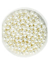 Beadia 100g(Approx 1000Pcs)  ABS Pearl Beads 6mm Round Ivory Color Plastic Loose Beads For DIY Jewelry Making
