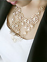 HUALUO®Princess Paragraph Multilayered Hollow Flower Necklace