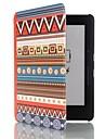 6 дюймов этническая картина тотем пу кожаный чехол с магнитной застежкой для Amazon Kindle плавания