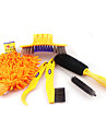 ACACIA   Bicycle Chain Cleaner Cycling Clean tire Brushes Tool kits set Mountain Road Bike Cleaning gloves Accessories