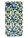 motif papillon cas materiel pc de telephone pour iPhone 4 / 4S
