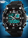 SKMEI Herre Sportsur Armbåndsur Digital Watch Quartz Digital Japansk QuartzLCD Kalender Kronograf Vandafvisende Dobbelte Tidszoner alarm