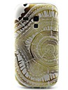 Disc Pattern TPU Material Soft Phone Case for Samsung Galaxy S3 Mini I8190