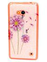 цвет одуванчика шаблон ТПУ мягкий чехол для Nokia Lumia 640 майкрософт