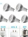 5pcs MORSEN® GU10/GU5.3/E27 5W 350-400LM Support Dimmable Light LED Spot Bulb