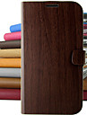 Vintage wood pattern PU Leather Full Body Protective Case with Stand for iPhone 5C (Assorted Colors)