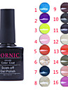 Sequins UV Color Gel Nail Polish No.1-16 (10ml, Assorted Colors)