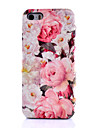 Peony Pattern PU Leather Phone Case For iPhone 6s 6 Plus SE 5s 5