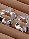 Серьга Серьги-гвоздики Бижутерия 2 шт. Свадьба / Для вечеринок / Повседневные Стерлинговое серебро Женский