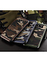 For Samsung Galaxy Case Shockproof Case Back Cover Case Camouflage Color PC Samsung A8 / A7 / A5