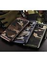 Para Samsung Galaxy Capinhas Antichoque Capinha Capa Traseira Capinha Cor Camuflagem PC Samsung A8 / A7 / A5