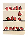 Birds Pattern Rotating Flat Holster for iPad mini /iPad mini2/iPad mini3