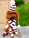 Dog / Cat Bandanas & Hats Pink / Yellow Winter Wedding / Cosplay