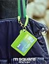 Portadores de Cartao de visita - Vermelho/Preto/Verde/Azul/Laranja - de Plastico - Multifuncional