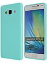 Pour Samsung Galaxy Coque Ultrafine Coque Coque Arriere Coque Couleur Pleine PUT pour Samsung A8 A7 A5