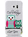 For Samsung Galaxy Case Pattern Case Back Cover Case Owl TPU Samsung S6 edge / S6 / S5 / S4 / S3