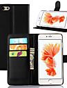 iphone 7 plus portefeuille se tiennent pu etui en cuir pour iphone 6s 6 plus couvercle rabattable avec fente 2 de la carte