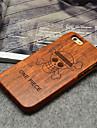 용 아이폰5케이스 케이스 커버 패턴 뒷면 커버 케이스 나무결 하드 나무 용 iPhone SE/5s iPhone 5