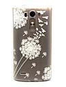 Для Кейс для LG Прозрачный Кейс для Задняя крышка Кейс для Одуванчик Мягкий TPU LG LG G3 / LG Spirit / LG C70 H422