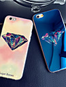 Luxurious Diamonds Colorful Blue Light Reflective Blu-ray Soft TPU Case Cover for iphone 6 Plus/6s Plus
