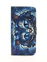 For iPhone 6 Case / iPhone 6 Plus Case Wallet / Card Holder / with Stand / Flip / Pattern Case Full Body Case Cartoon Hard PU Leather