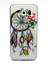 Para Samsung Galaxy Capinhas Transparente Capinha Capa Traseira Capinha Filtro dos Sonhos TPU SamsungS6 edge plus / S6 edge / S6 / S5